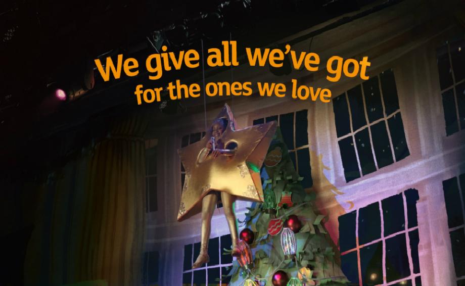 Sainsburys Christmas Advert 2019 Sainsbury's lifts the curtain on new Christmas advert, 'The Big