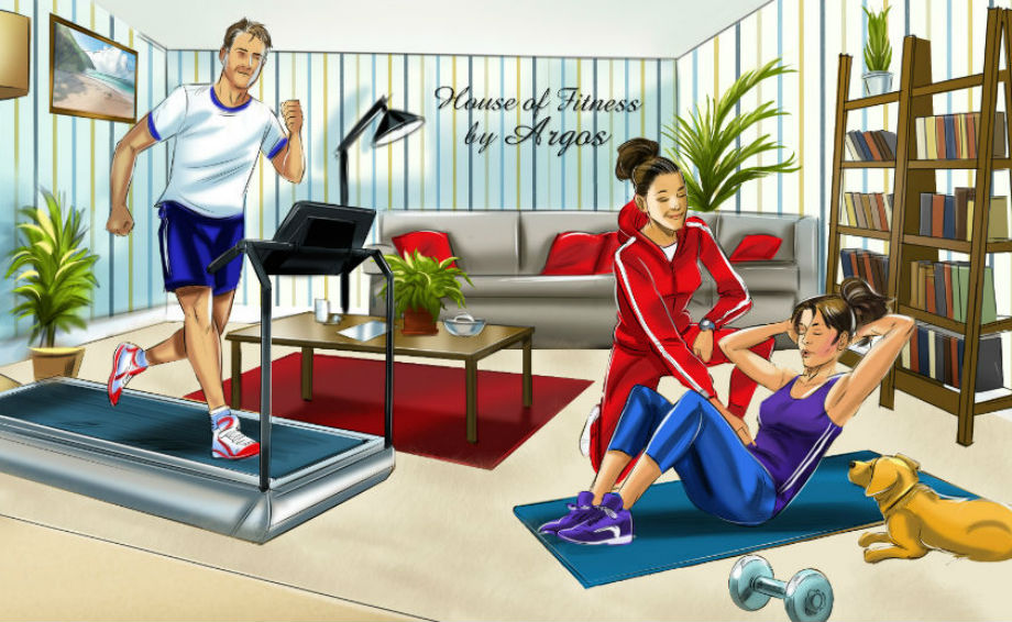 Argos launches ultimate home style gym u sainsbury s