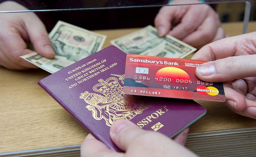 Sainsburys bank travel money: family & friends benefit from peak